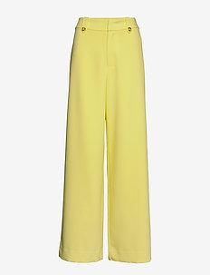 ReemGZ wide pants MS20 - uitlopende broeken - limelight