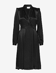 LynnGZ dress MS20 - robes portefeuille - black