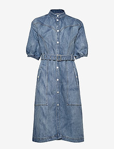 DacyGZ dress MS20 - shirt dresses - medium blue