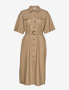 EvieGZ dress MS20 - skjortekjoler - safari
