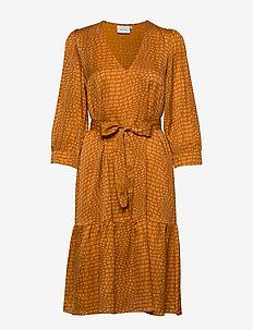 TabbyGZ dress MS20 - midi kjoler - golden oak