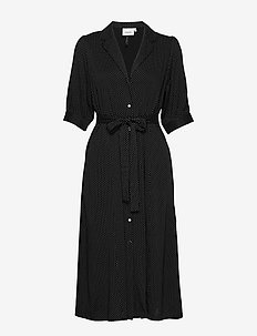 ColinaGZ dress MS20 - midi jurken - black