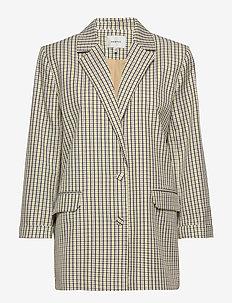 ElionaGZ blazer MS20 - blazere - lime light check
