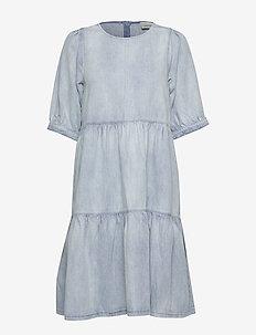 Blå Cally Kjole fra Gestuz Festkjoler