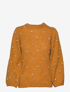 AstanGZ puff pullover MS20 - swetry - golden oak