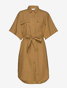 BaliaGZ OZ shirt MS20 - midi kjoler - khaki