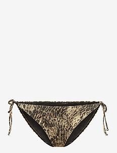 PilGZ bikini bottom - bikini underdele - yellow leo