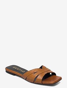 AshleyGZ sandal HS20 - flade sandaler - bone brown
