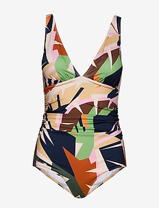 ArtyGZ swimsuit - badedrakter - pink multi art
