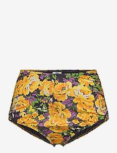 ArtyGZ bikini bottom - bikini underdele - yellow flower garden