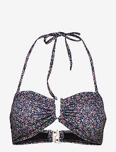 CanaGZ bikini top - bikini overdele - small flower black