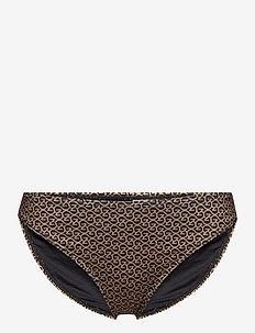 CanaGZ bikini bottom - bikini underdele - brown logo