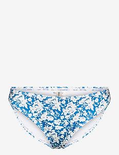 CanaGZ bikini bottom - bikini underdele - mini blue flowe aop