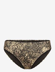 CanaGZ bikini bottom - bikini underdele - yellow leo
