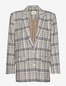 AlunaGZ blazer HS20 - blazere - pink/yellow check
