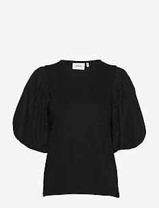 ImaGZ blouse HS20 - blouses med korte mouwen - black