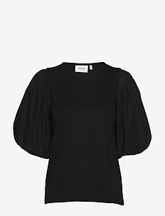 ImaGZ blouse HS20 - blouses korte mouwen - black