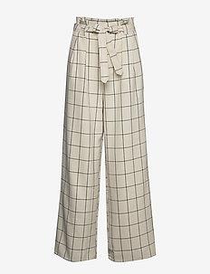 LinoaGZ pants HS20 - uitlopende broeken - egret