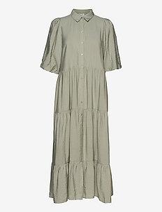 KiritaGZ dress - skjortekjoler - pale green