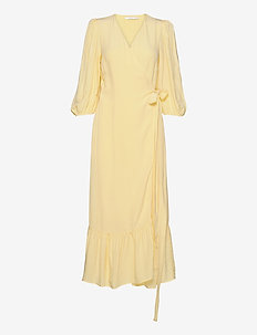 UrielGZ wrap dress - omslagskjoler - golden haze