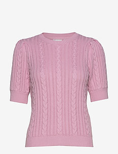 RawanGZ ss pullover HS20 - knitted tops & t-shirts - lilac sachet