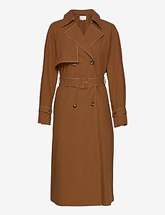 StaliaGZ trenchcoat HS20 - trenchcoats - toffee
