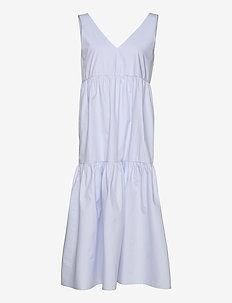 BibiGZ sl dress HS20 - midi jurken - xenon blue