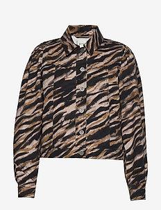 FelineGZ jacket AO20 - denim jackets - army tiger