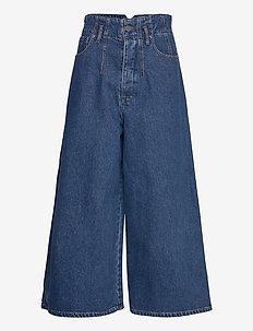 DeaGZ gaucho jeans AO20 - flared jeans - denim blue