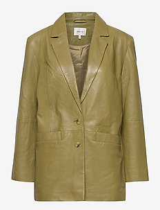 NaloaGZ blazer AO20 - oversized blazere - dried herb