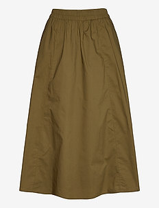 CassiaGZ skirt AO20 - jupes midi - dark olive