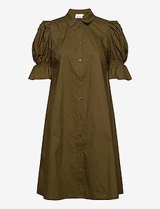 CassiaGZ dress AO20 - skjortekjoler - dark olive
