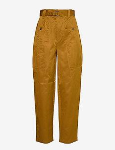 AsterGZ pants AO20 - wide leg trousers - tapenade
