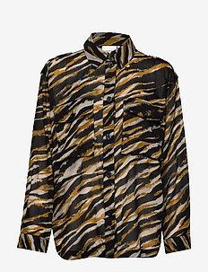 CrisantaGZ shirt AO20 - chemises à manches longues - army tiger