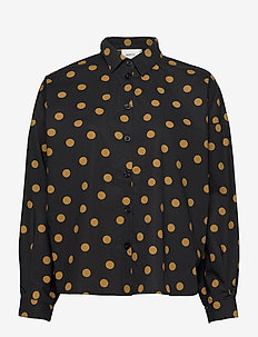 JacintaGZ OZ shirt AO20 - long-sleeved shirts - tapenade dot