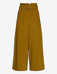 LynneGZ pants AO20 - uitlopende broeken - tapenade