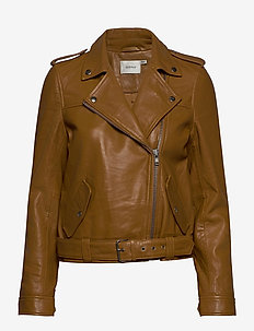ViljaGZ jacket AO20 - leather jackets - tapenade
