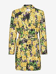 FleurGZ blazer AO20 - blazere - yellow flower garden