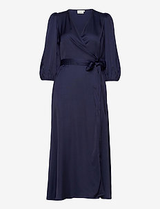 NadjaGZ wrap dress BZ - omslagskjoler - peacoat