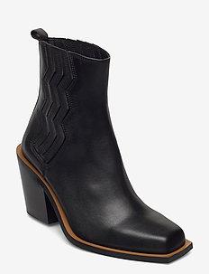 BiaGZ boots - ankelstøvler med hæl - black