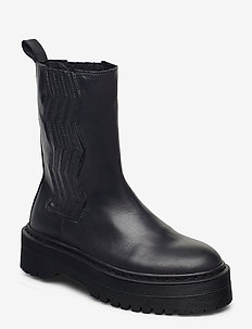 MarleeGZ chunky boots - bottes de pluie - dark navy