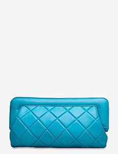 VeldaGZ quilted bag MA20 - kuvertväskor - methyl blue