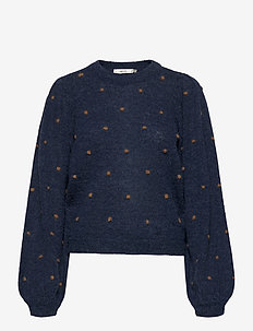 AstanGZ ls pullover MA20 - pullover - peacoat