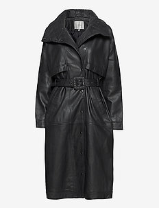 EsterGZ coat MA20 - lederjacken - dark navy