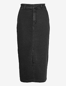 SofyGZ skirt MA20 - jeansowe spódnice - washed black