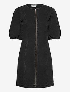 SofyGZ dress MA20 - jeansowe sukienki - washed black