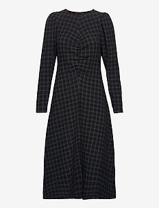LydiaGZ dress MA20 - robes midi - blue check