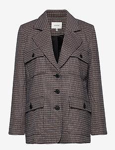 VivGZ blazer MA20 - blazere - brown check