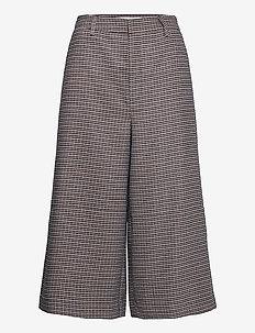 VivGZ long shorts MA20 - hosen mit weitem bein - brown check