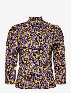 CameaGZ blouse - long sleeved blouses - yellow splash